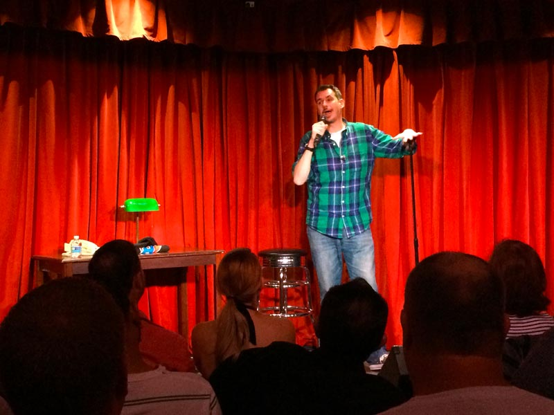 Headliner Flip Schultz has an extra-long killer set of laughs