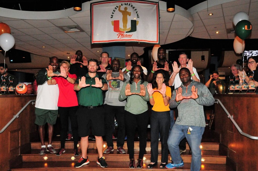 Part of the bowling greats from last year's tournament