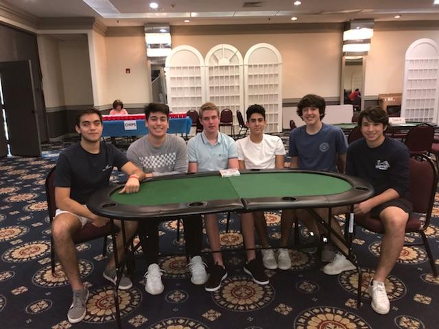 Tournament organizers: [L-R] Pedro Rodriguez, Jaikob Frank, Jay Morrison, Jesse Lehman, Eli Graff, Zach Wiener