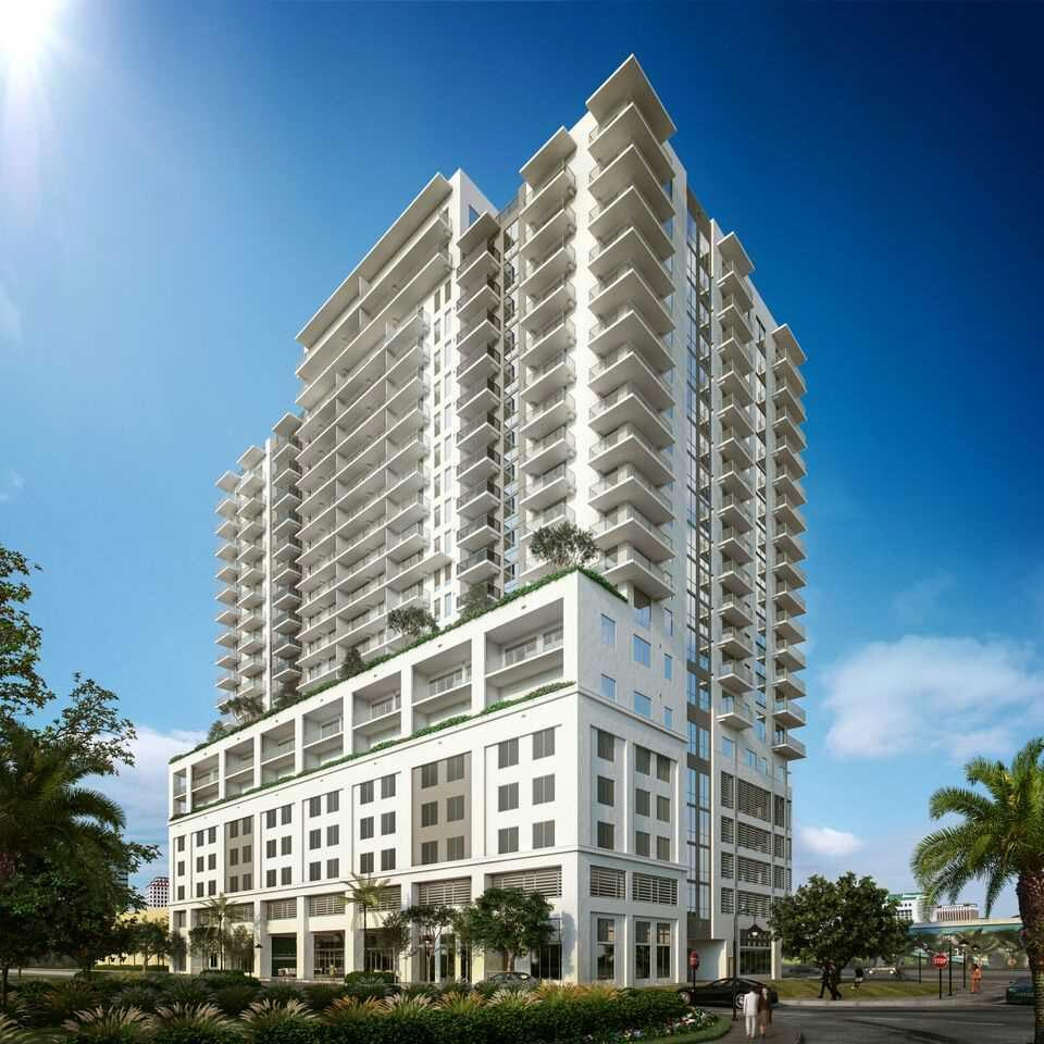 Rendering (there are buildings surrounding this in THE actual Dadeland landscape)