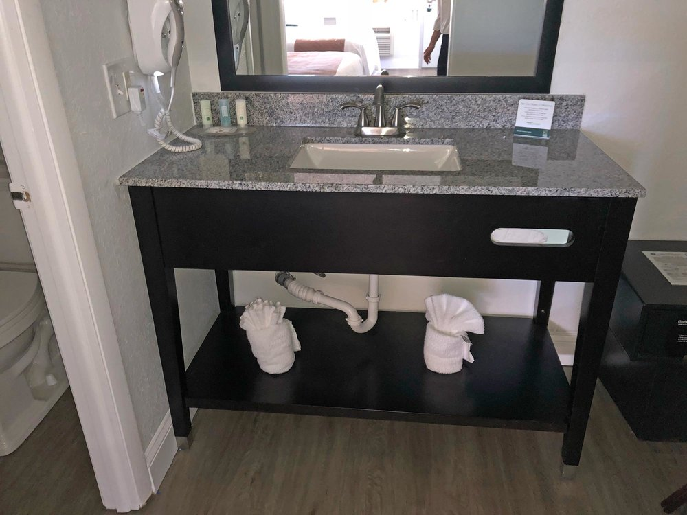 Sample renovated bath area