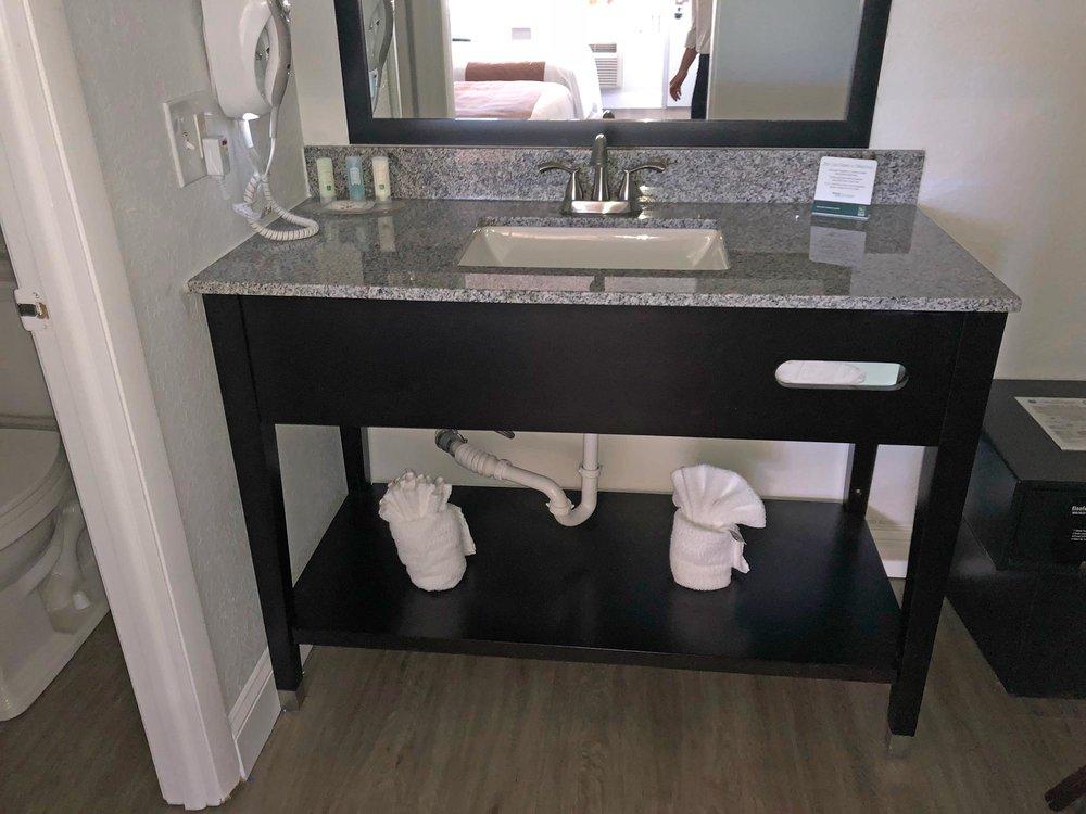 Sample renovated bath area