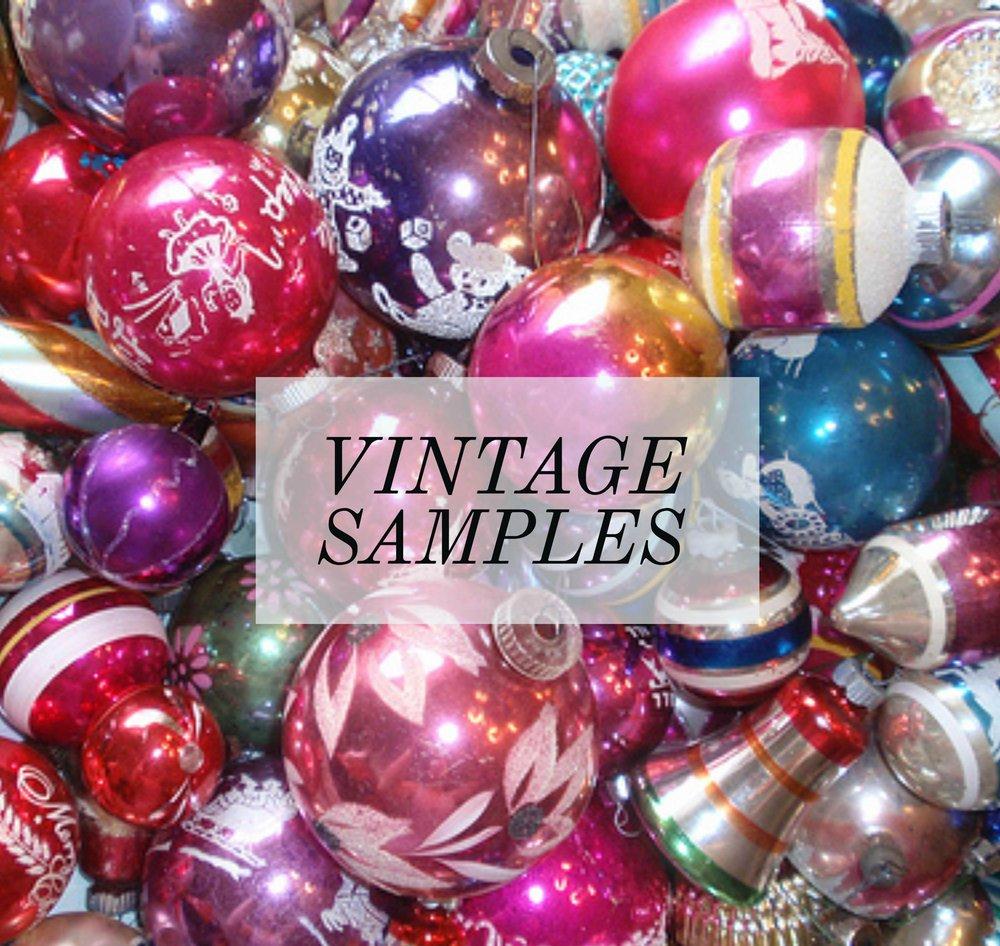 Vintage Samples
