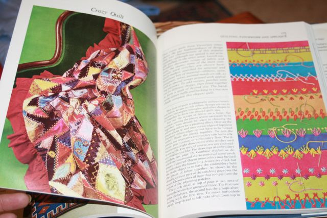 CRAZY QUILT PATTERN INCLUDES A VARIETY OF DETAILED EMBROIDERY DESIGNS