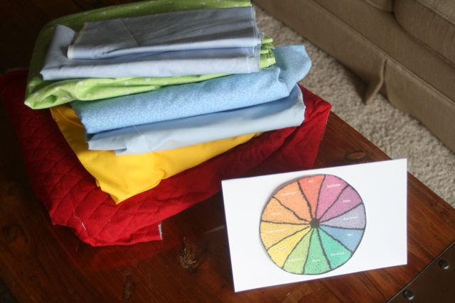 COLOR WHEEL EXCELLENT GUIDE FOR CHOOSING QUILT FABRICS