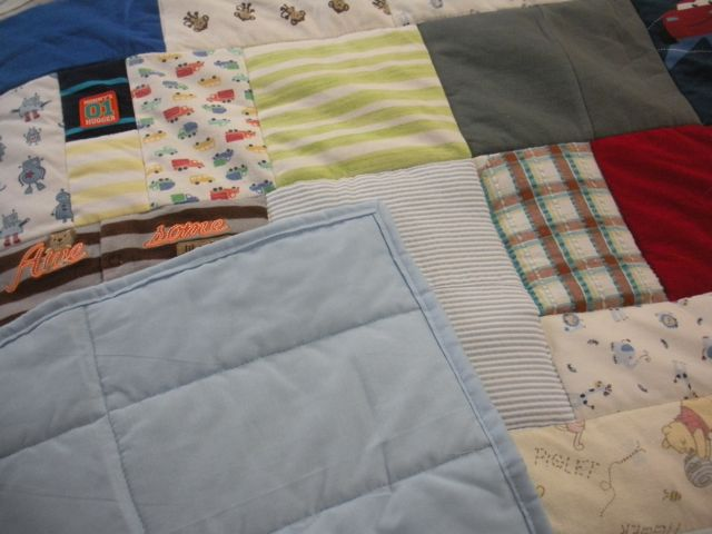 CUSTOM QUILT BACKS ARE ALSO A GOOD PLACE TO ADD COLOR
