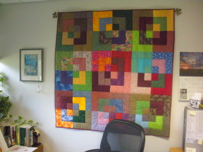 Bluebird Gardens Hang Quilts