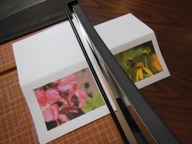 PHOTO GIFT CARD TRIMMING