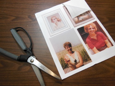 PRINTED PHOTOS ON FABRIC BLOCK