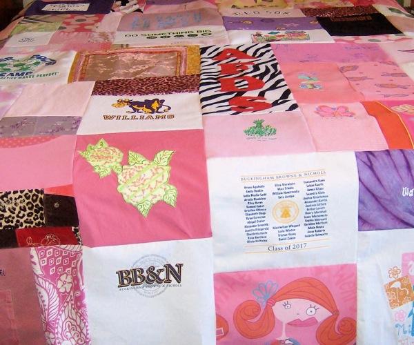 Custom T-Shirt Mixed Blocks Extra Large Quilts