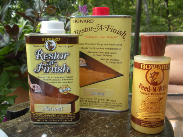 Exceptional Howard Products RestorAFinish Furniture Refinishing Kit