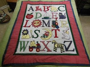 Bluebird Gardens Quilts and Gifts : alphabet baby quilt pattern - Adamdwight.com