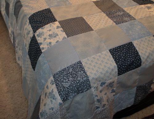 Custom Ten Inch Blocks Quilt