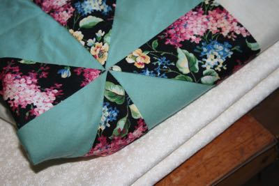 SELECTING FABRIC FOR BINDING FOR UNFINISHED QUILT TOP