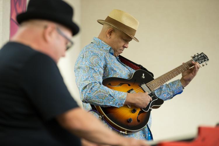 Photo Tomas Flint, Xerox Rochester International Jazz Festival