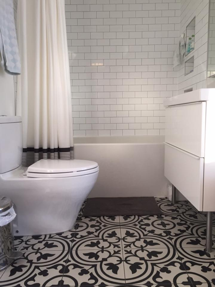 Mill Creek bathroom renovation after
