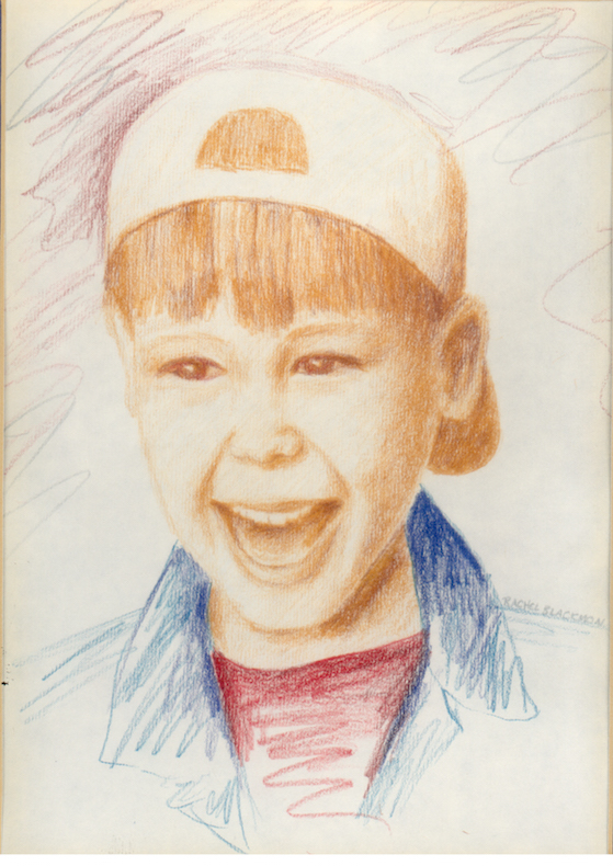 Boy Colored Pencil