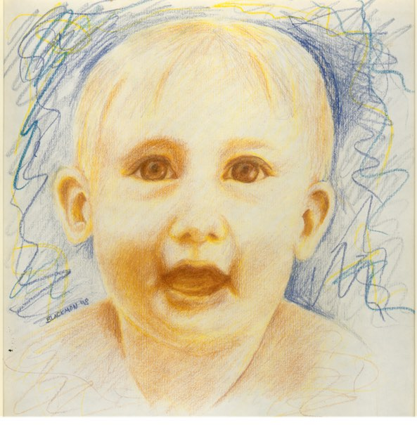 Baby Colored Pencil