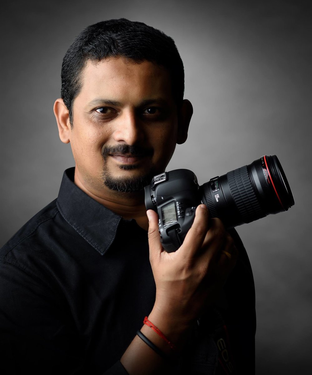 R Prasana Venkatesh  is a  professional photographer from Chennai, India specializing in People and Advertising photography. He is also a photo mentor who has done more than 100 workshops for beginners as well as for the professionals.   He is one of the most sought after professional photographer in India for he has worked with some of the most discerning clients like Ilaiyaraja, Dr.K.J.Yesudas and many more. His innovative style, friendly disposition, humor and creativity have got him clients like Rolls Royce Motors, Kone ,Mahindra Homestays ,Kalakshetra Foundation , MGM Dizzee World, Asife, Lavazza, Chennai Silks, Niklas Oppermann London ,Ashok Leyland