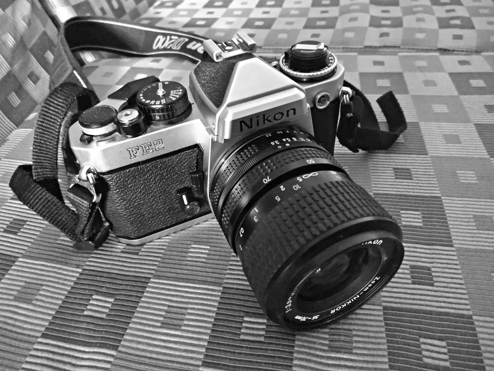 My Nikon FE2 cleaned 2 weeks ago