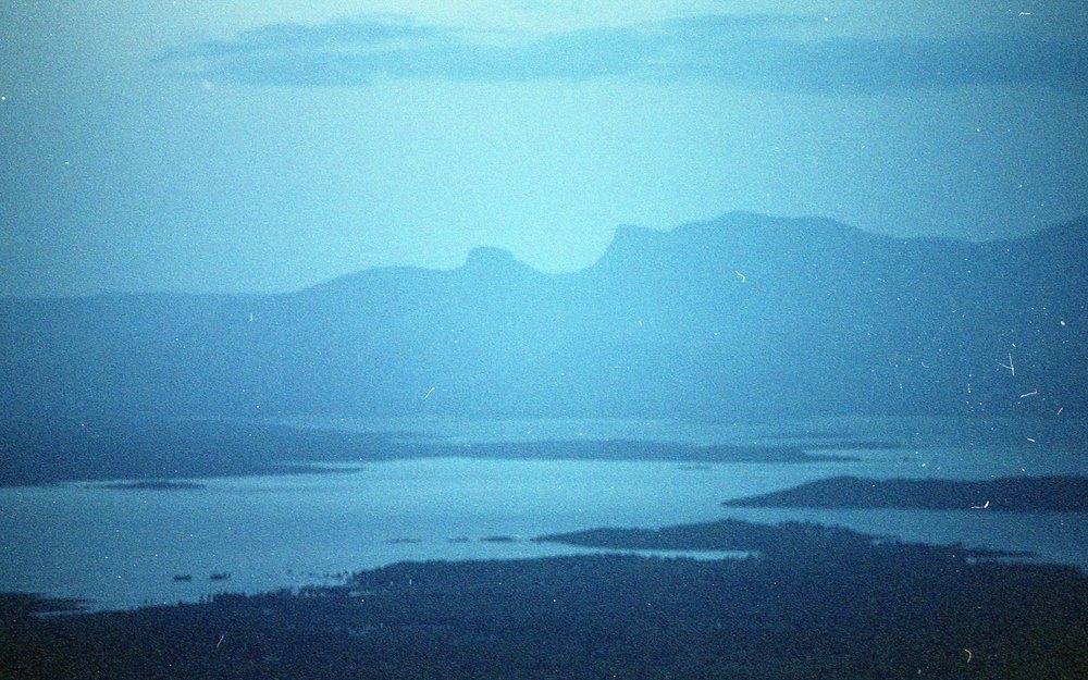 View of Bhavani from Othimalai. I thank Anbu for taking me here.  Film: Kodak Portra 400 Camera: Pentax ME Super Lens: SMC 28 mm f/1.4