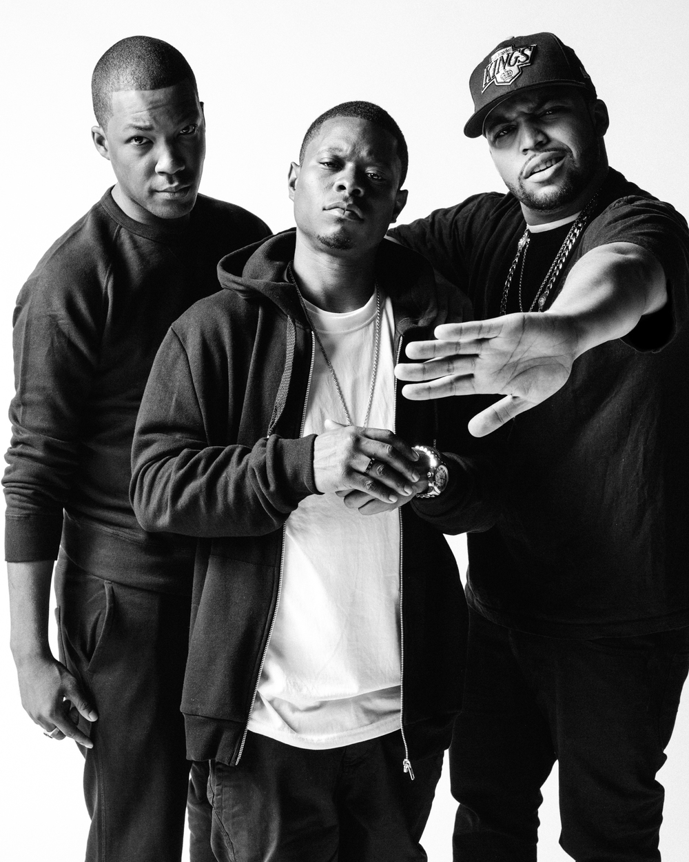 Straight outta compton cast/MTV