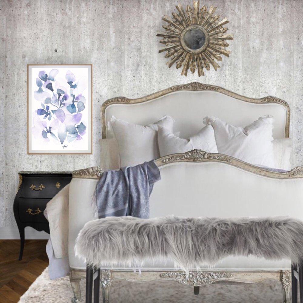 Elegant and Sophisticated Bedroom Design Idea