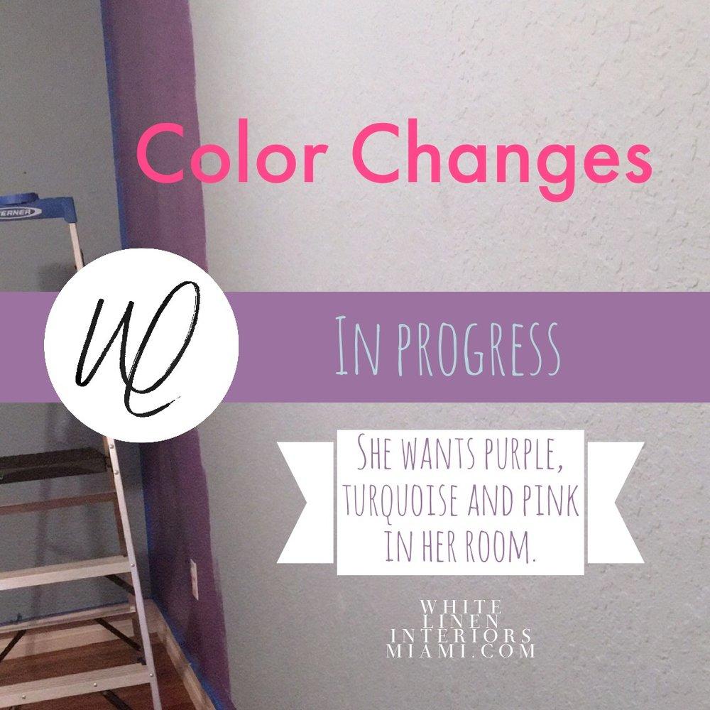 Color Changes | Color Scheme