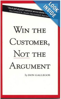 Don's Best Selling Customer Service Book that shows the reader why great customer service should be the hallmark of any retail business.