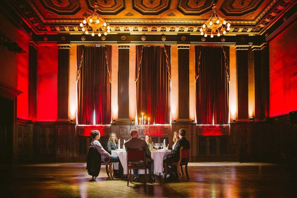 Exklusives Dinner im historischen Meistersaal