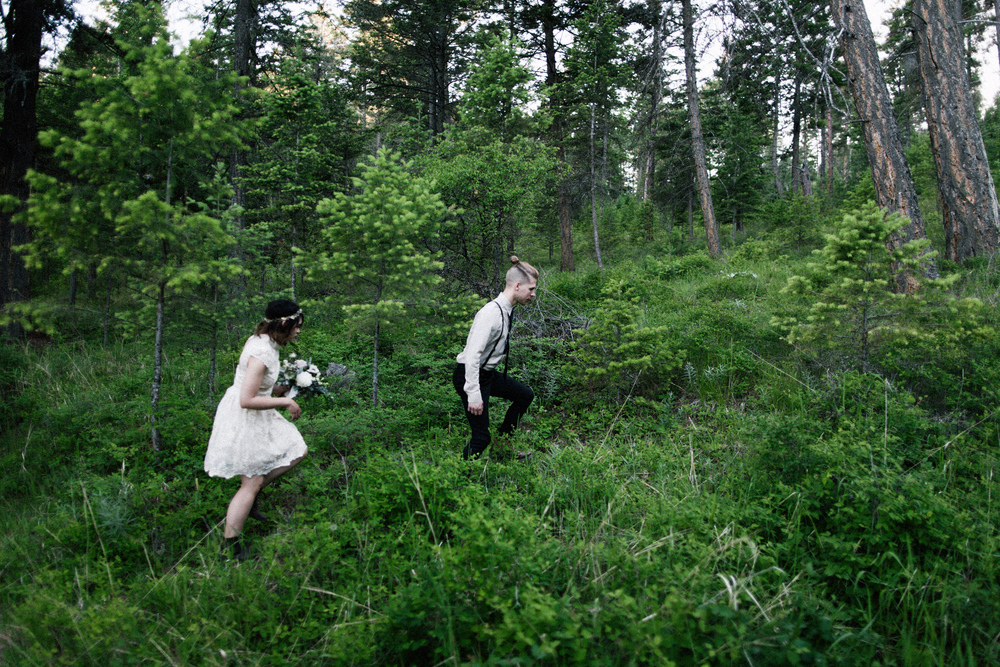 Kalispell Montana Wedding - Fresh Life