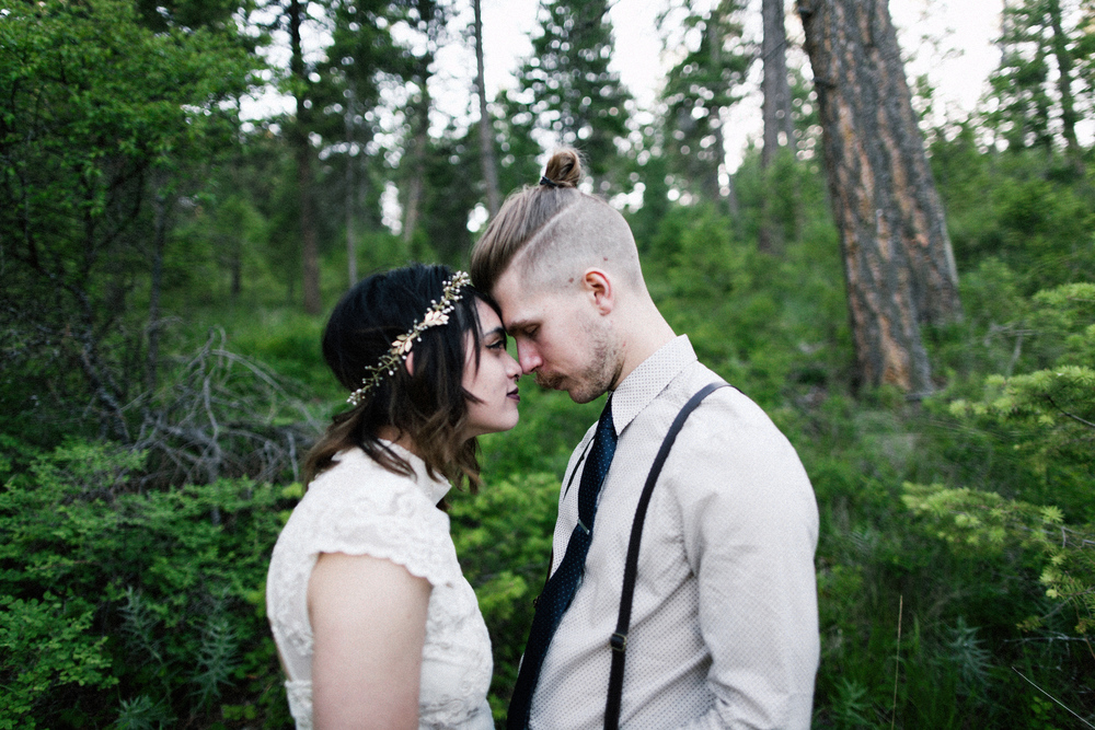 Montana Lake Wedding