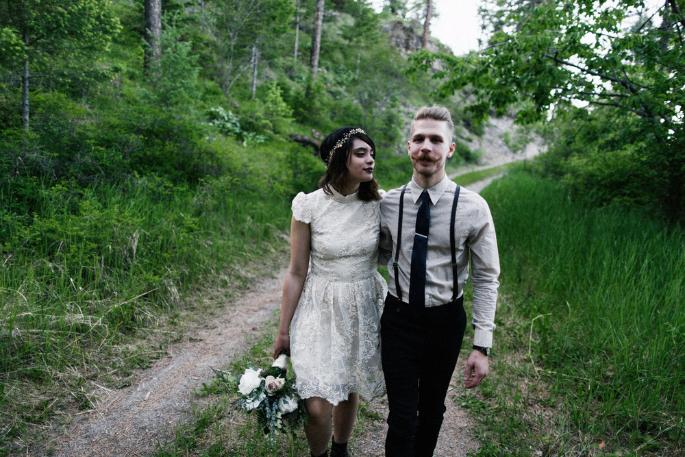 adventure wedding montana