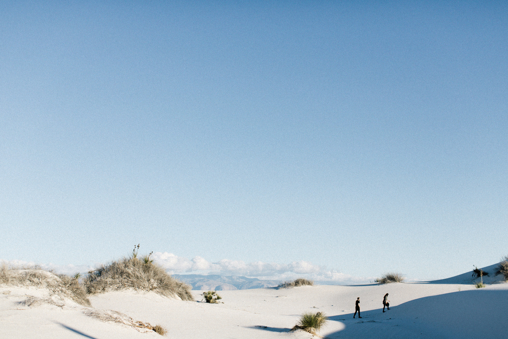 white sands photo