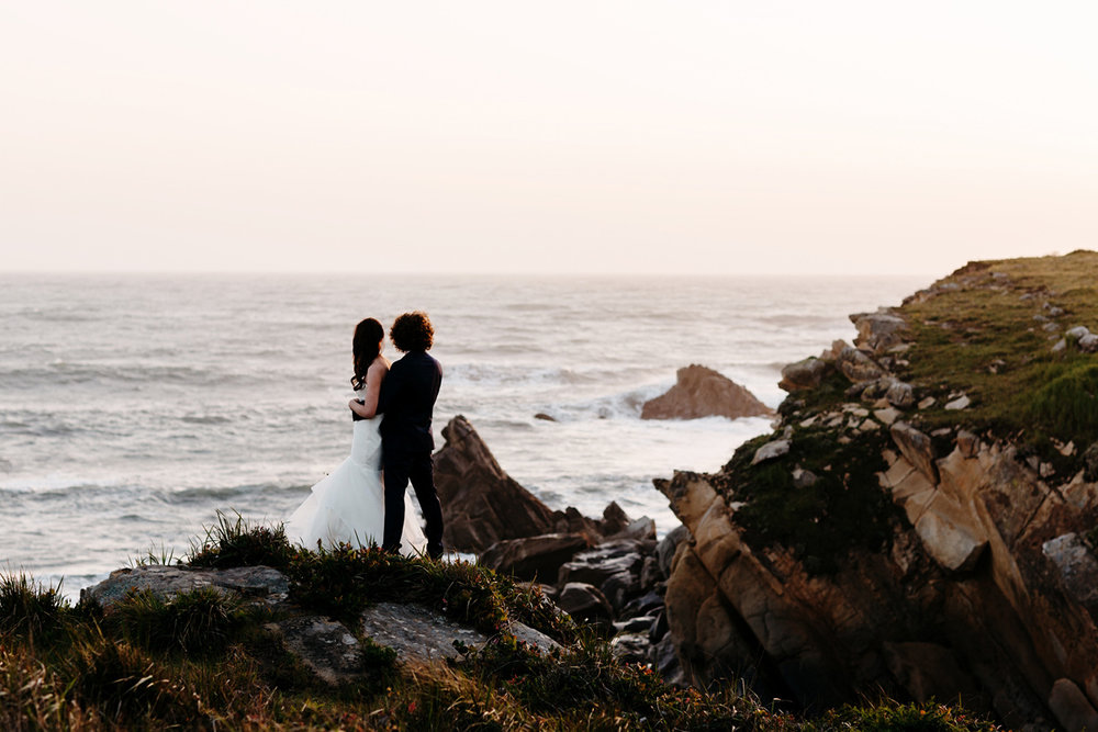 elope, elopement photographer, sea ranch, california, san franci