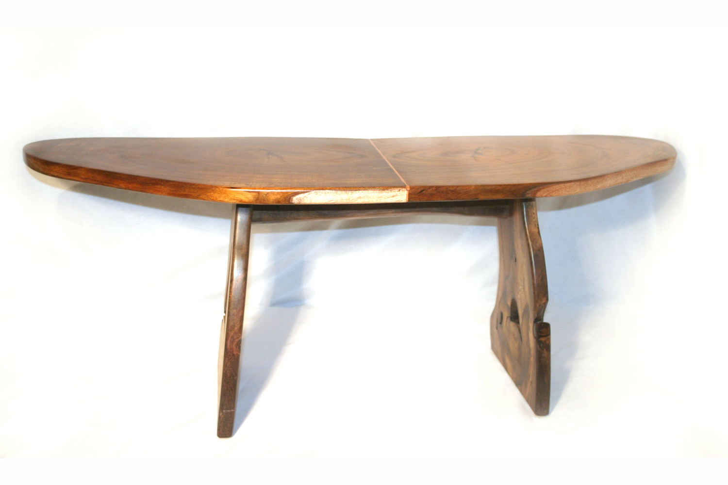Bookmarked Koa And Pheasant Wood Table