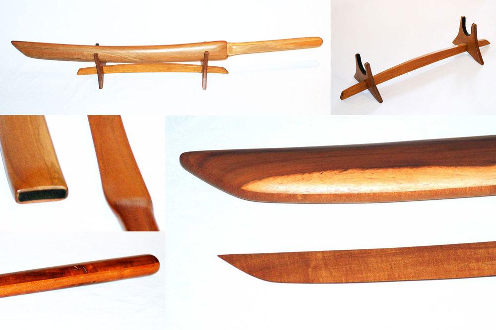 Japanese Wooden Katanas