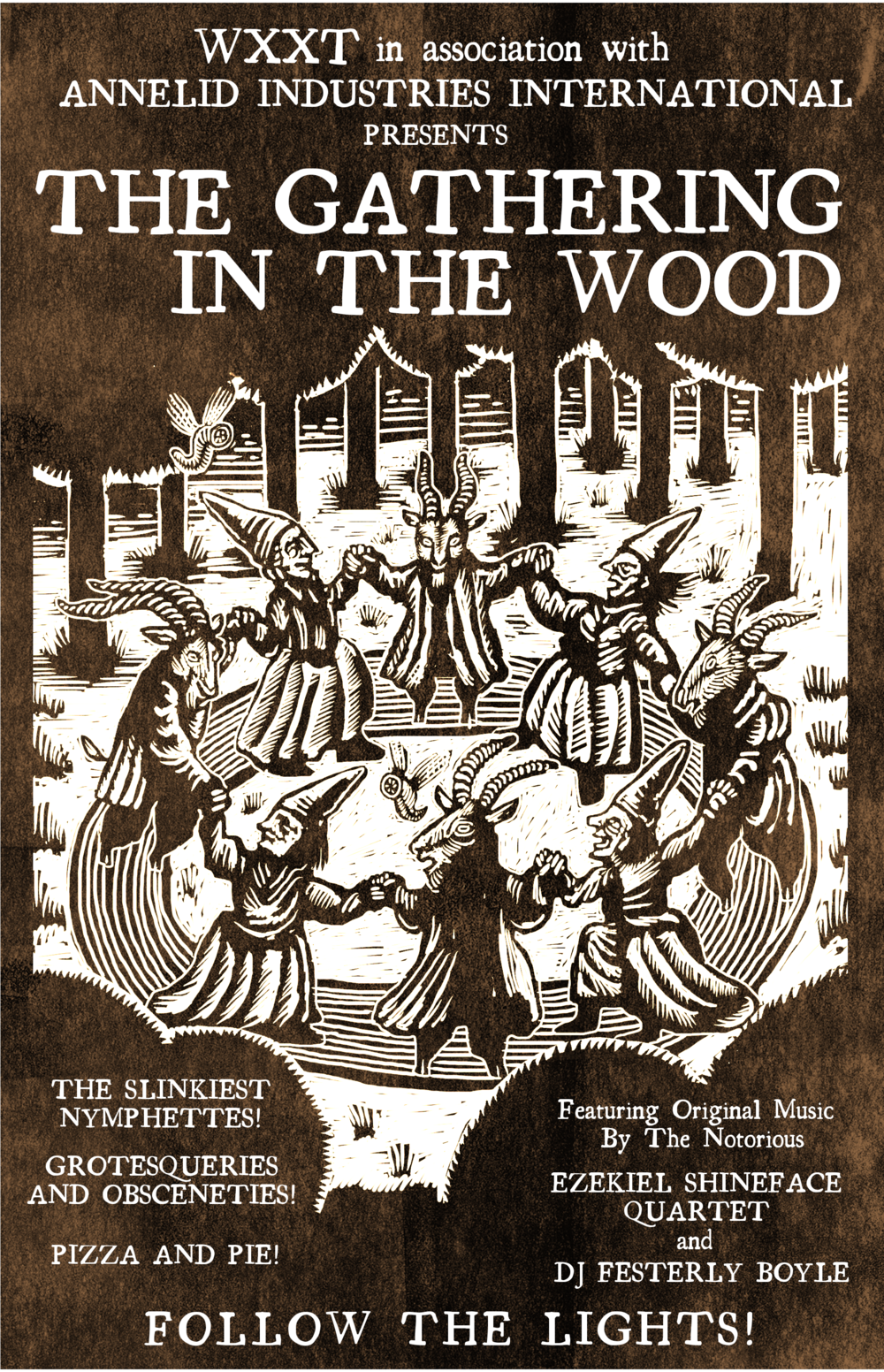 """The Gathering in the Woods"", poster (2016)"