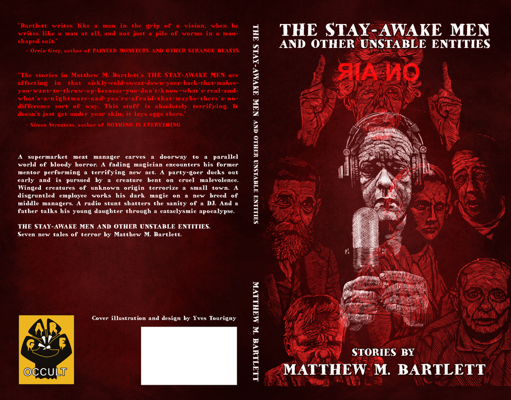 'The Stay-Awake Men and Other Unstable Entities' cover (Gare Book, 2019)