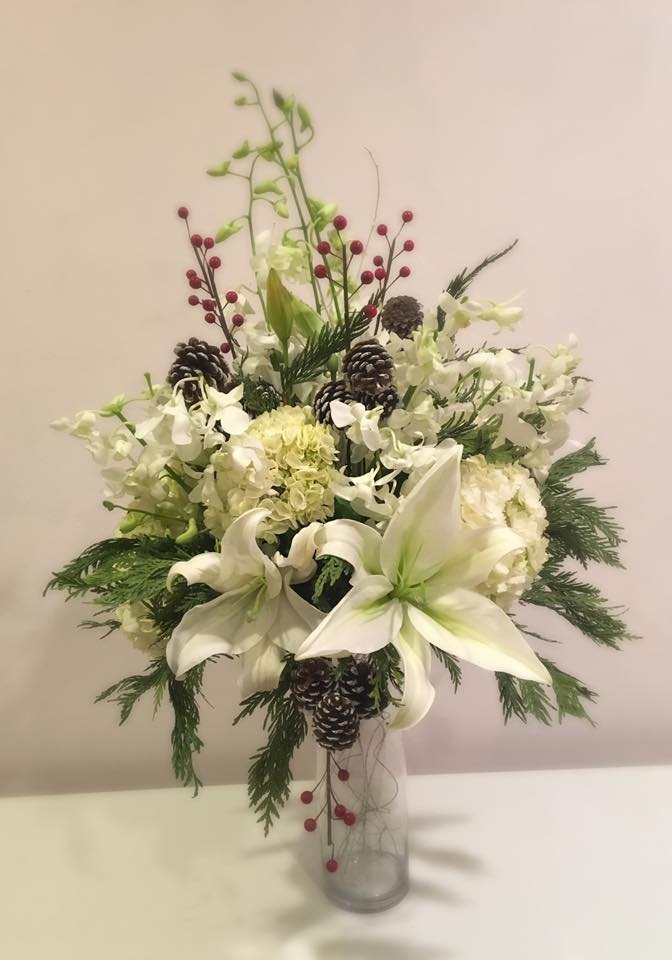 Evelisa Floral & Design: Winter arrangement