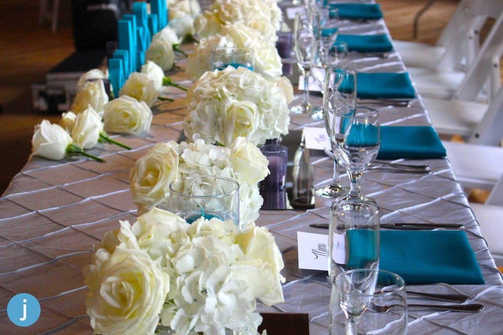 Evelisa Floral & Design: Bridal table