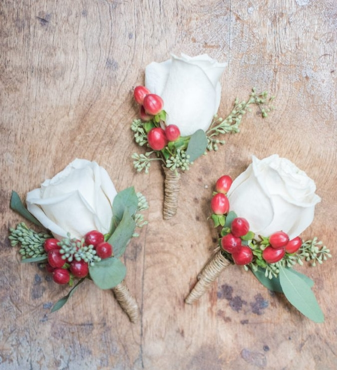 Evelisa Floral & Design: boutonnieres