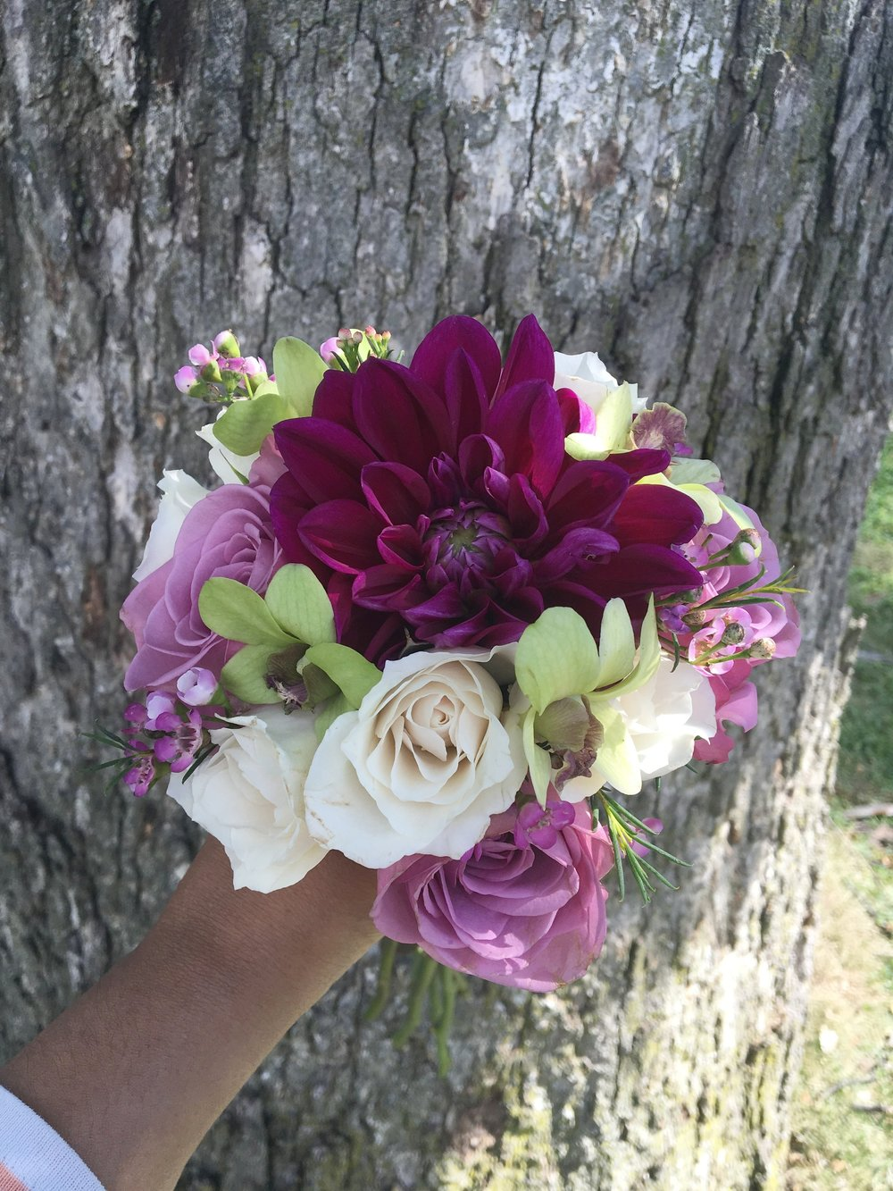 Posy Bouquet created by: Evelisa Floral & Design