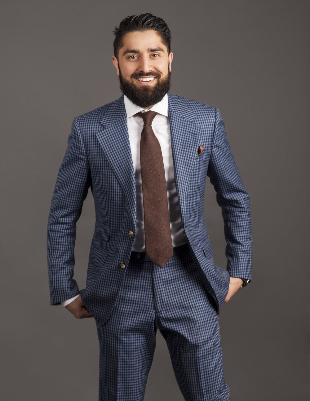 A Million Vibes - Million Dollar Listing star, Roh Habibi needed some updated photographs for his brand. We worked closely with his agents to portray his personality in a raw and polished sense, and highlighted his ever-impressive style.