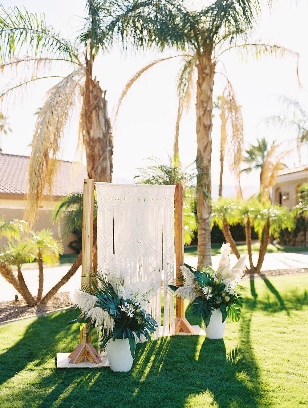 Phi and Alannas Backyard Wedding in Palm Springs California 17.jpg