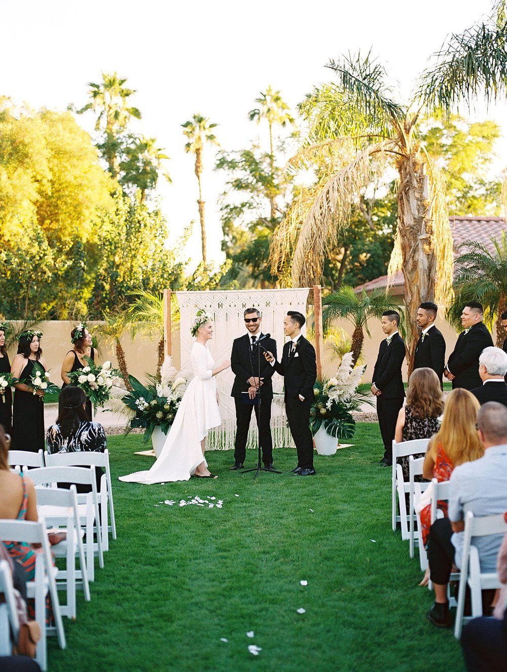 Phi and Alannas Backyard Wedding in Palm Springs California 23.jpg
