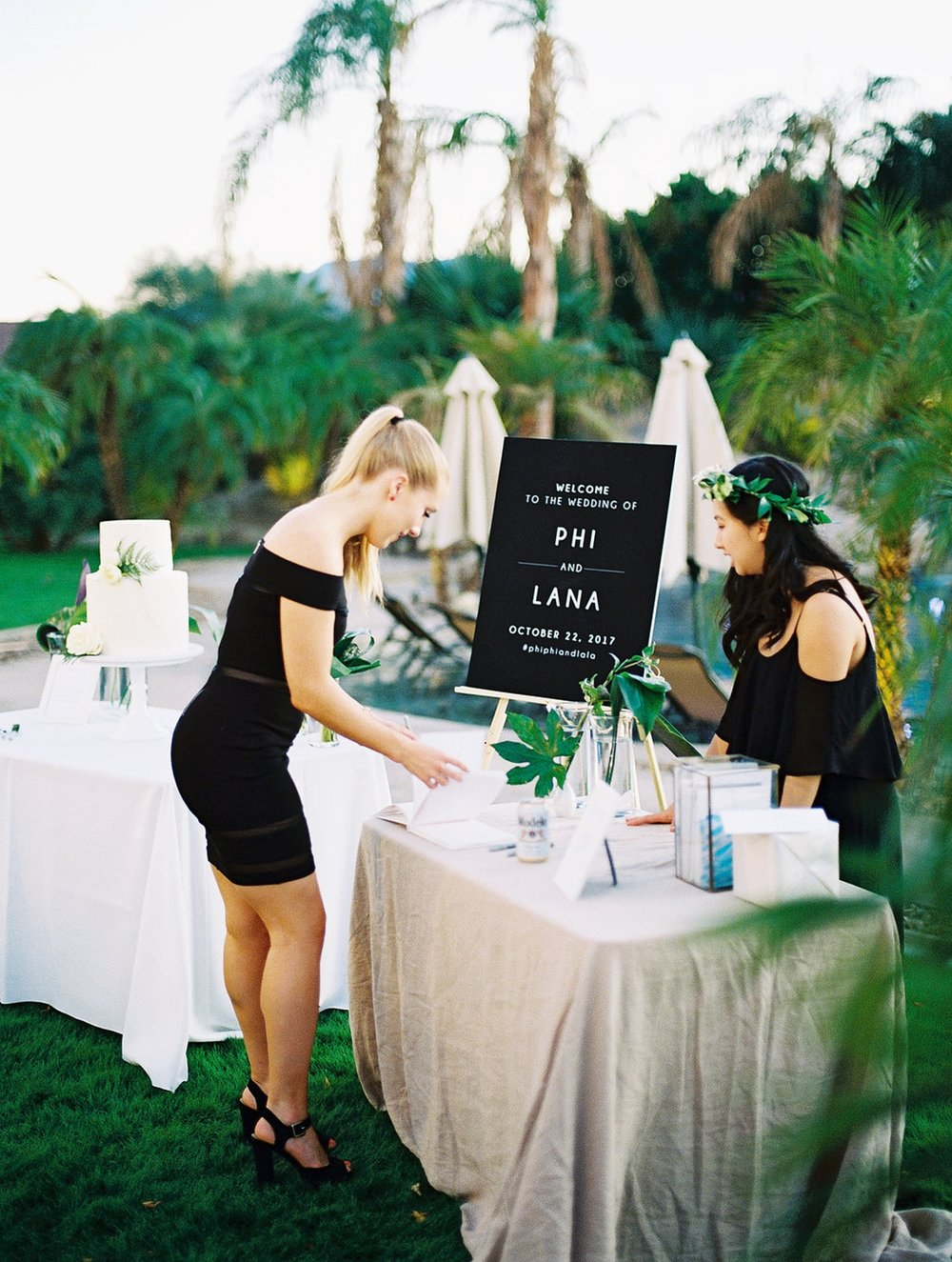 Phi and Alannas Backyard Wedding in Palm Springs California 42.jpg