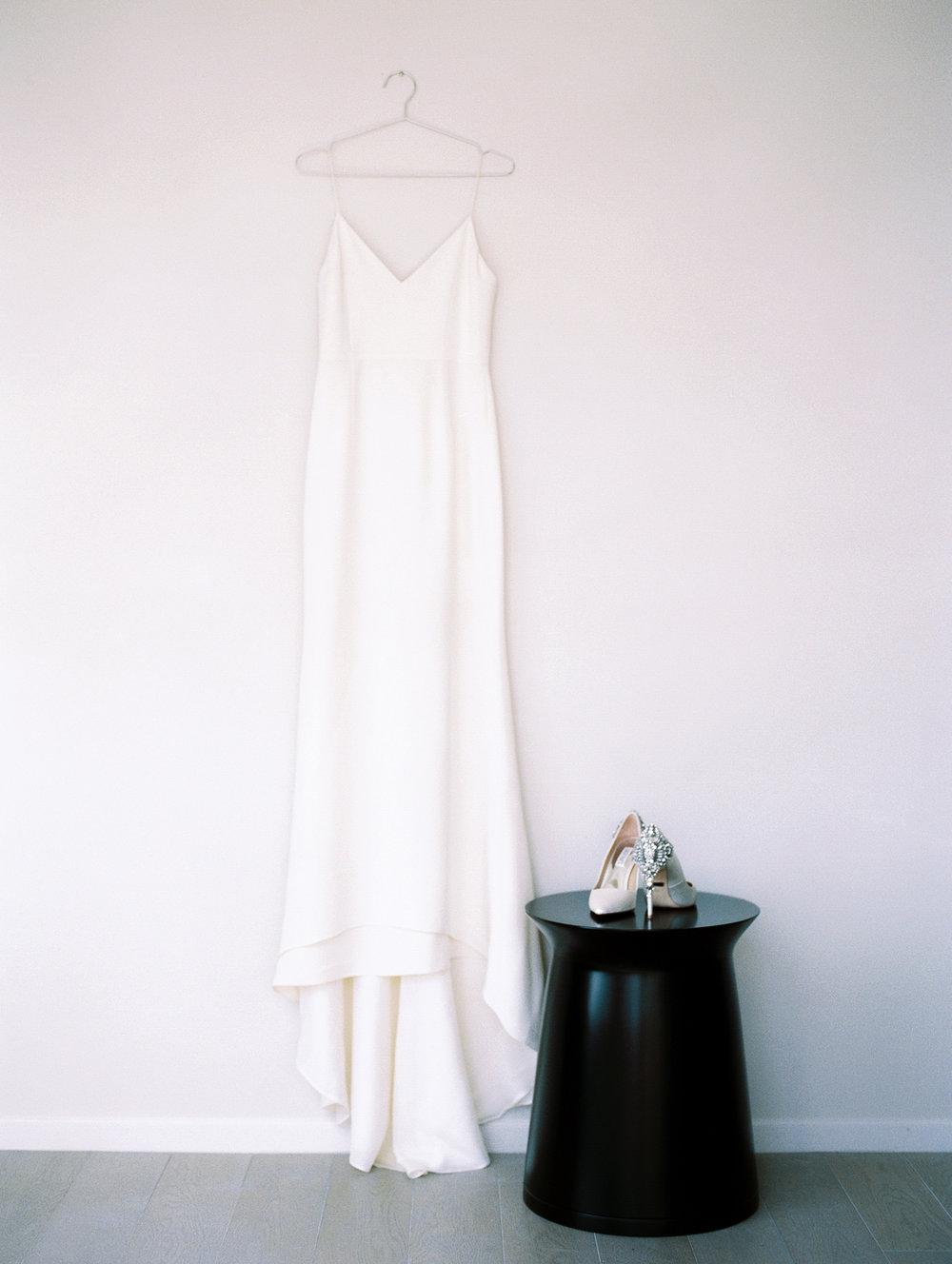 modern bridal details