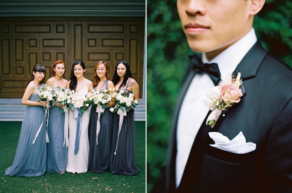 bridal party photos in thailand