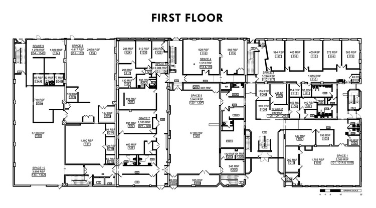 Blueprint commercial building image collections for Commercial building floor plans free